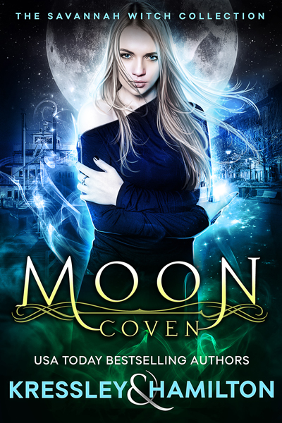 Moon Coven, The Savannah Witch Collection by New York Times Bestselling author Rebecca Hamilton